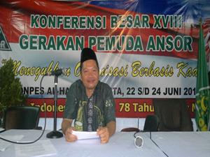 Konferensi besar GP Ansor XVIII dibuka oleh Menpora